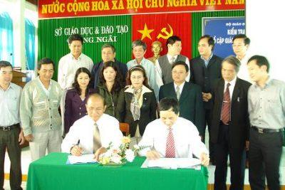Phổ cập Giáo dục tiểu học đúng độ tuổi của tỉnh Quảng Ngãi đã về đến đích