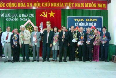 Sở Giáo dục và Đào tạo tổ chức họp mặt nhân ngày Nhà giáo Việt Nam 20 -11