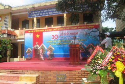 Trường THPT Sơn Hà kỷ niệm 20 năm ngày Thành lập trường và Khai giảng năm học mới 2014- 2015