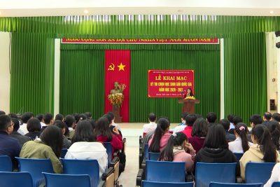 Quảng Ngãi: 25 học sinh đạt giải học sinh giỏi Quốc gia năm học 2020-2021