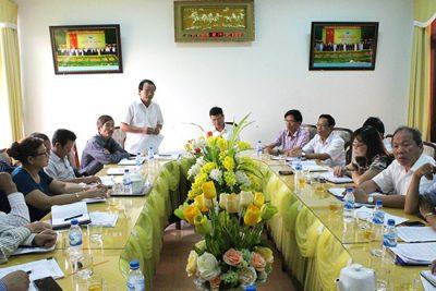 Sở Giáo dục và Đào tạo làm việc với Thường trực Huyện ủy Sơn Tịnh về công tác triển giáo dục